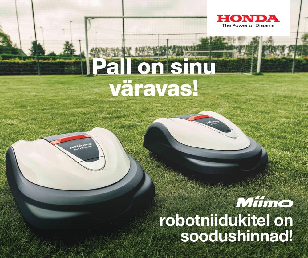 Honda robotniiduki pakkumine