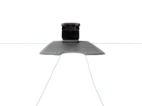 Robot topelt juhtkaabel